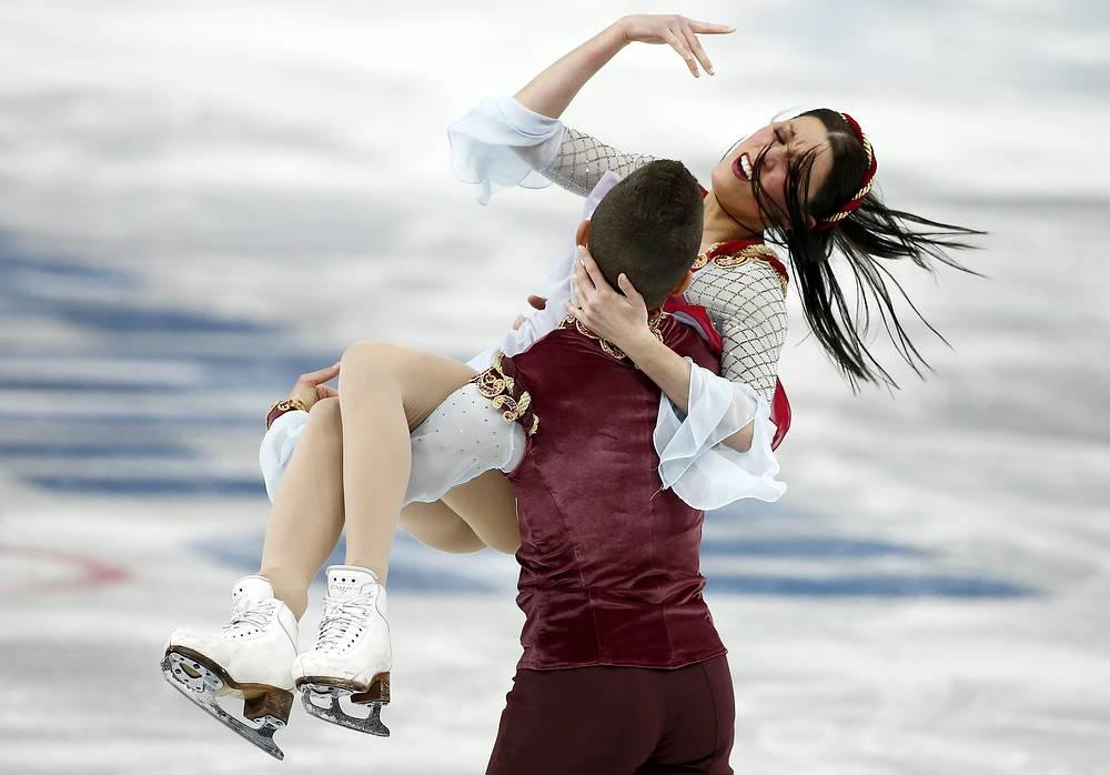 Итальянские атлеты: $189,8 тыс., $101,7 тыс. и $67,8 тыс. На фото: танцевальный дуэт Шарлин Гиньяр и Марко Фаббри