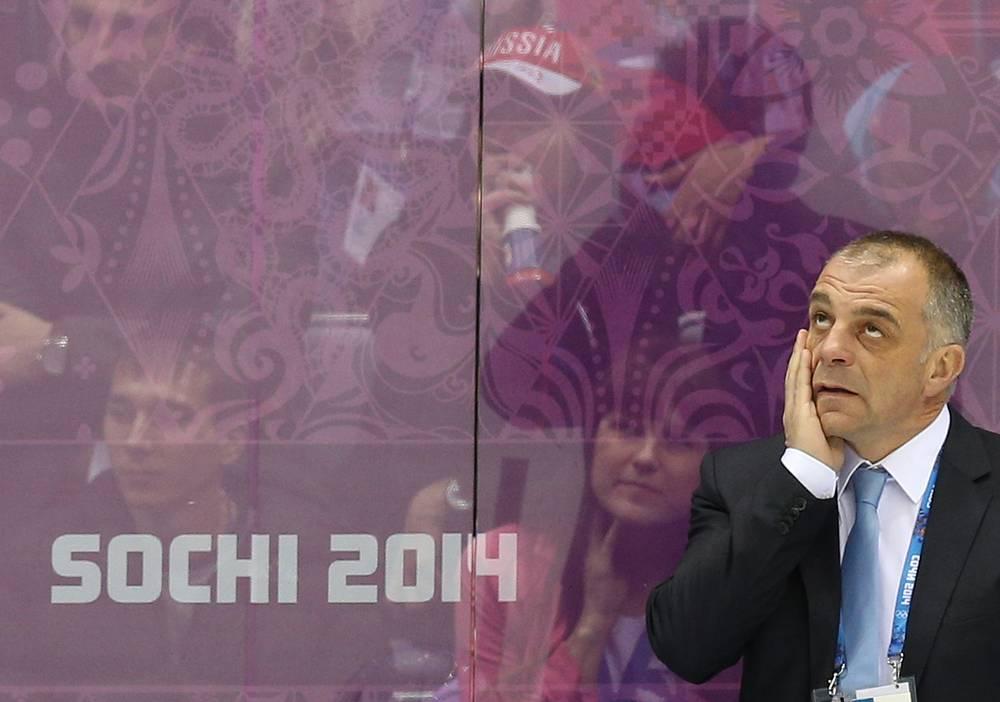 Главный тренер сборной Словении Матьяж Копитар