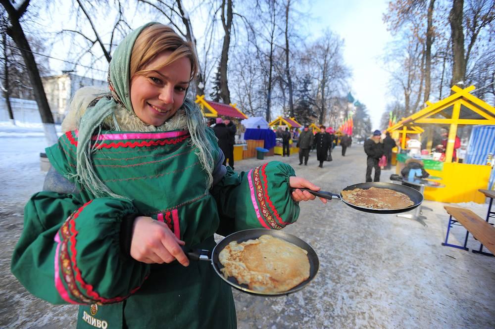 Масленица - праздник, символизирующий проводы зимы и встречу весны