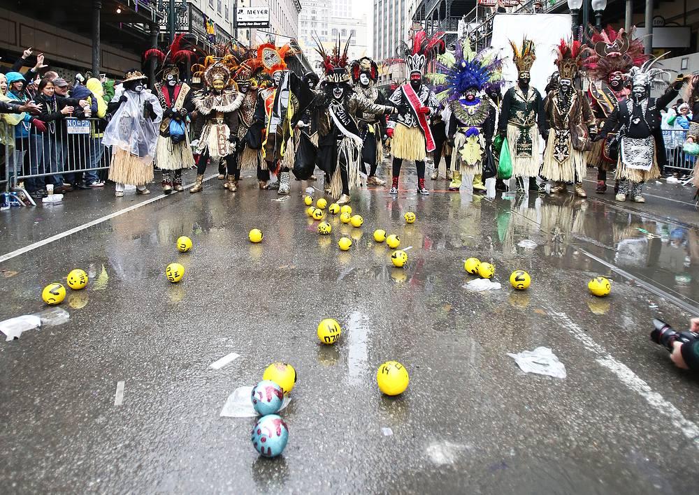 Сезон празднования Марди-Гра открылся еще в середине февраля
