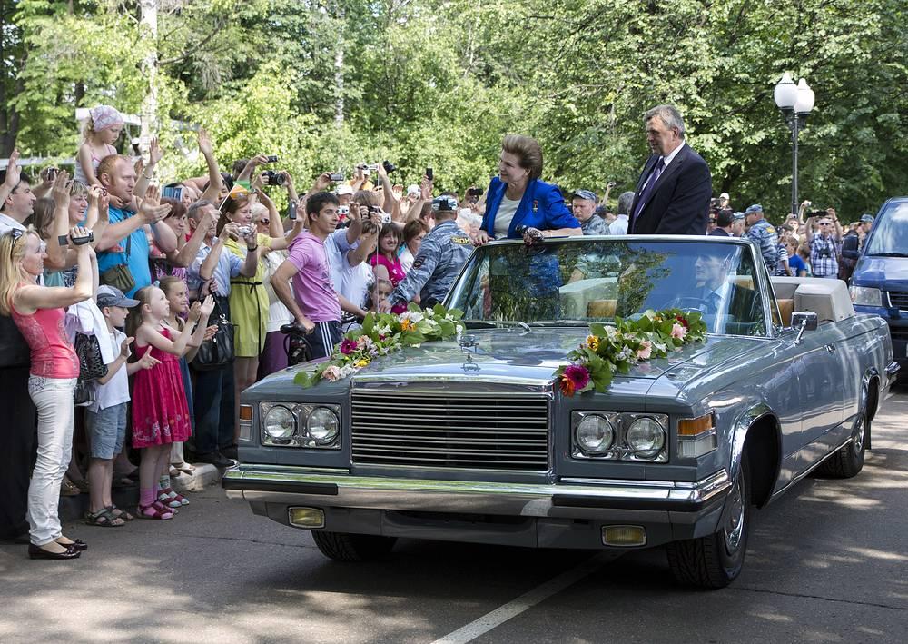 Торжества в Ярославле по случаю 50-летия полета в космос Валентины Терешковой. 2013 год