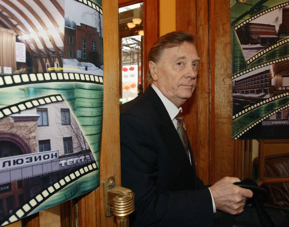 Народный артист России Анатолий Кузнецов, 2004 год