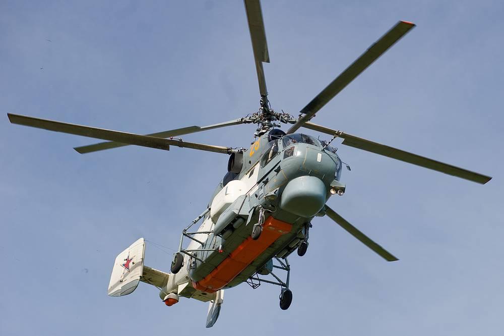 Корабельный вертолет Ка-27