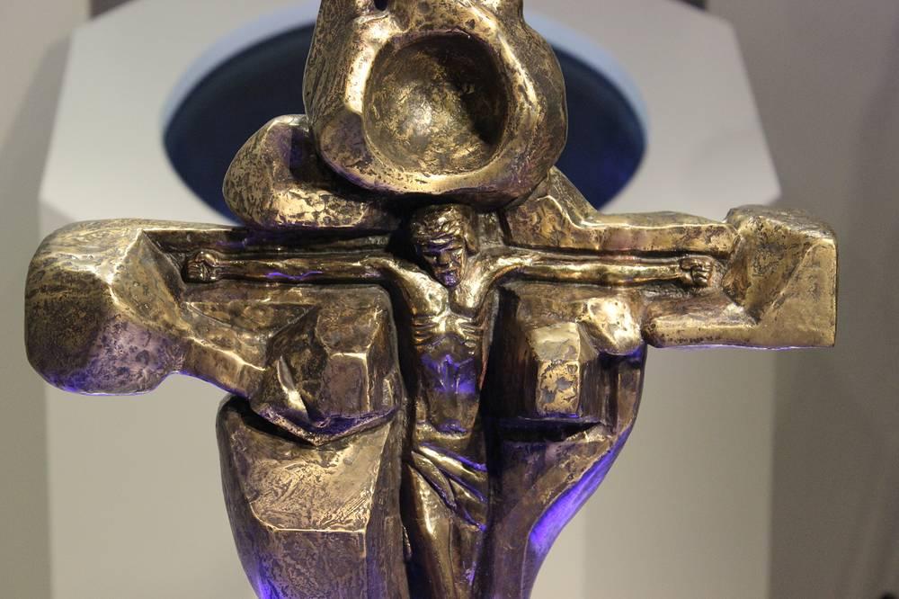 """""""Сердце Христа"""". Бронза. 1973-75 гг."""