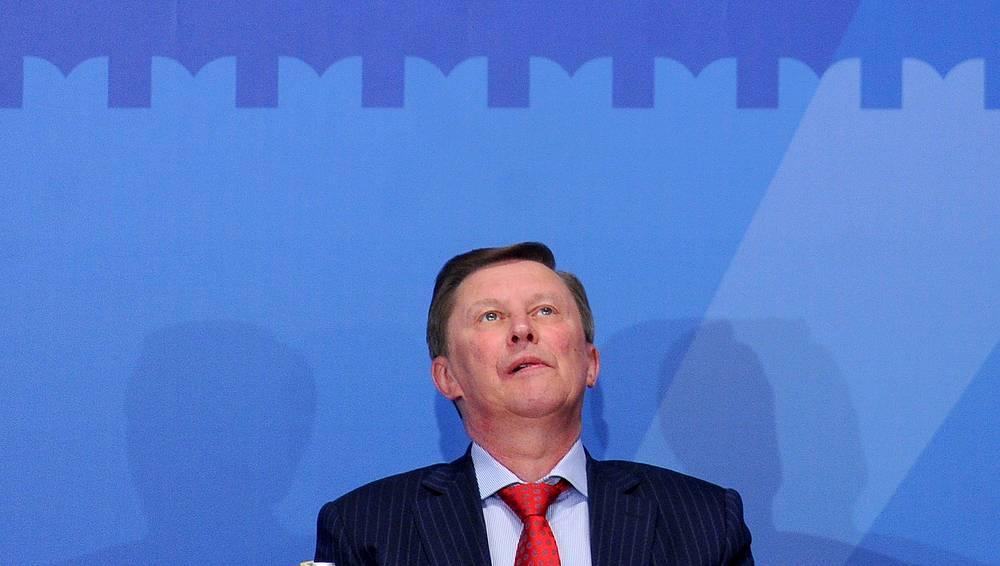 Глава администрации президента РФ Сергей Иванов. Санкции введены администрацией президента США