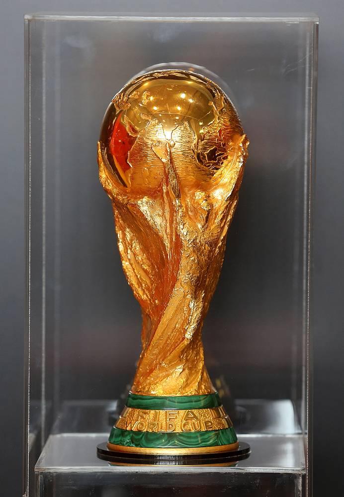 Кубок Чемпионата мира по футболу FIFA во время пребывания в Москве