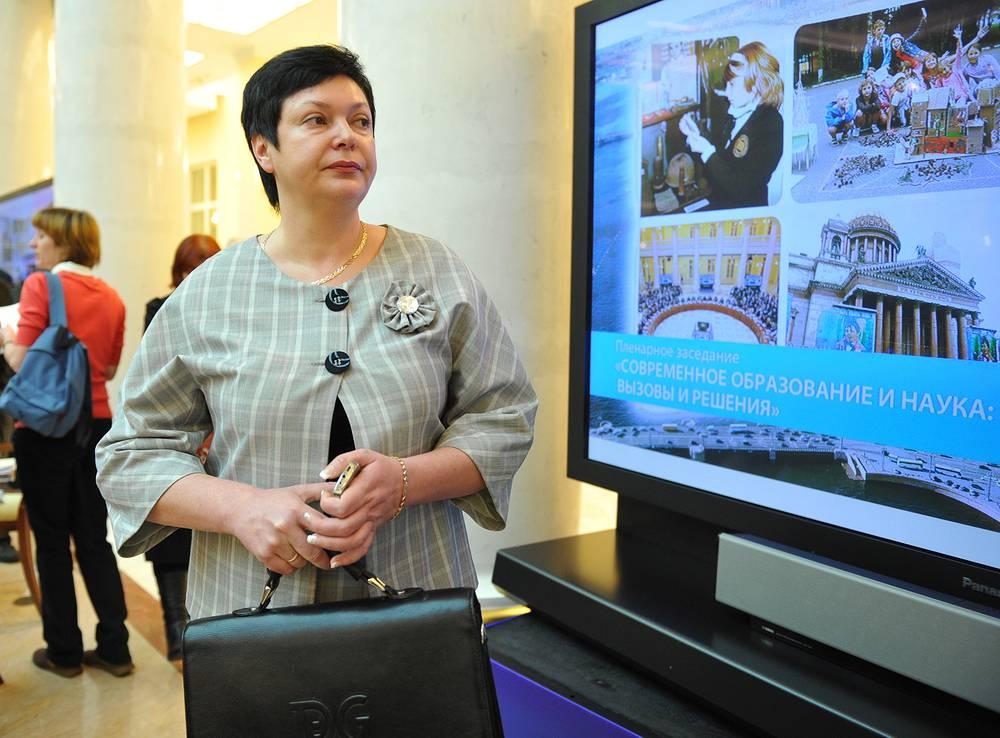 Министр образования Крыма Наталья Гончарова.