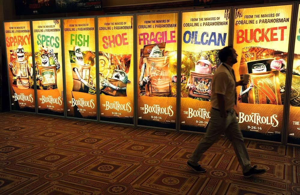 24-27 марта в Лас-Вегасе состоялась крупнейшая выставка киноиндустрии CinemaСon-2014