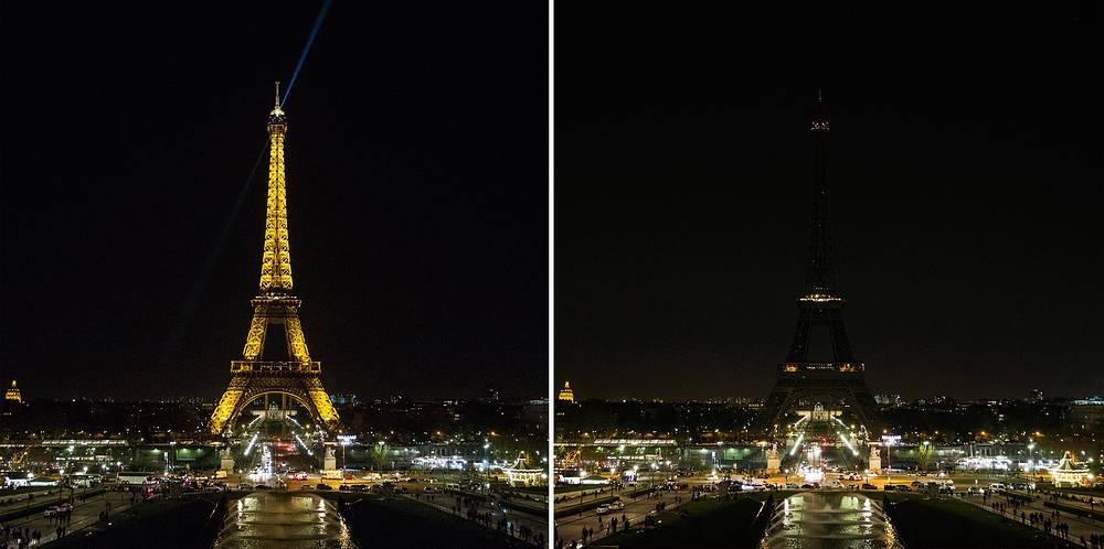 Франция, Париж, Эйфелева башня