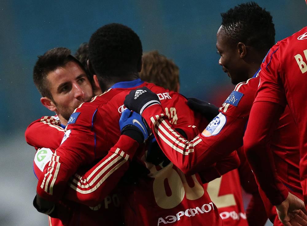 Победа над нижегородцами позволила ЦСКА подняться на третье место в турнирной таблице