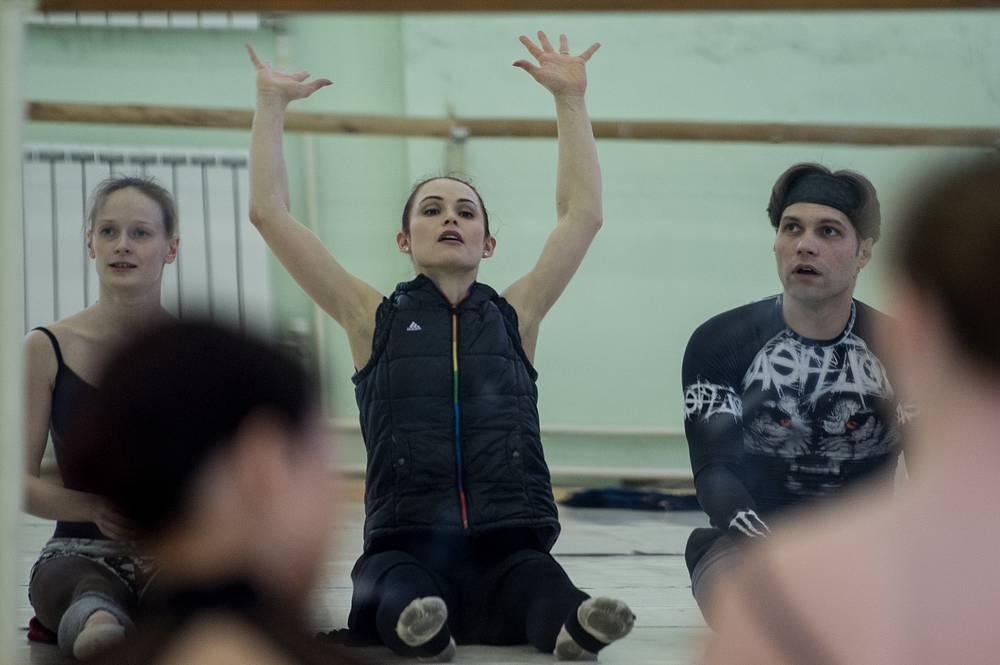 """Репетиция балета """"Вакансия"""""""