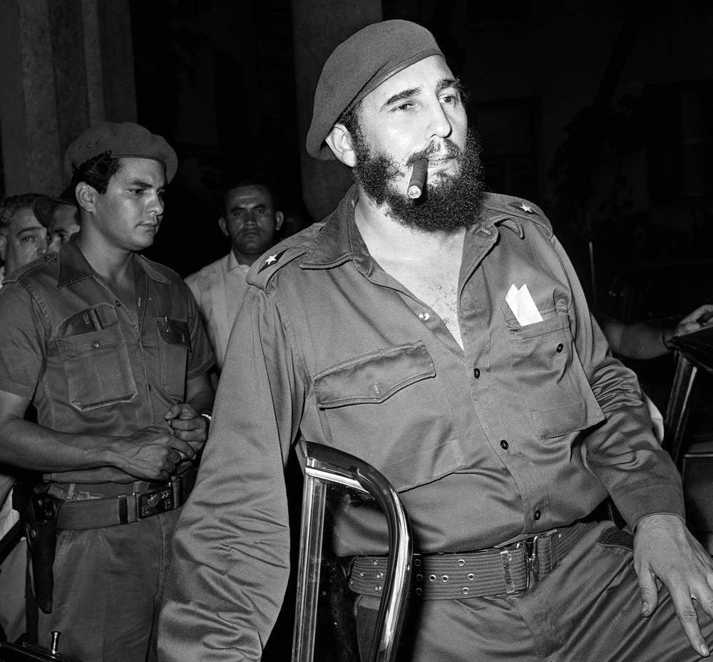 Фидель Кастро в апреле 1961 года