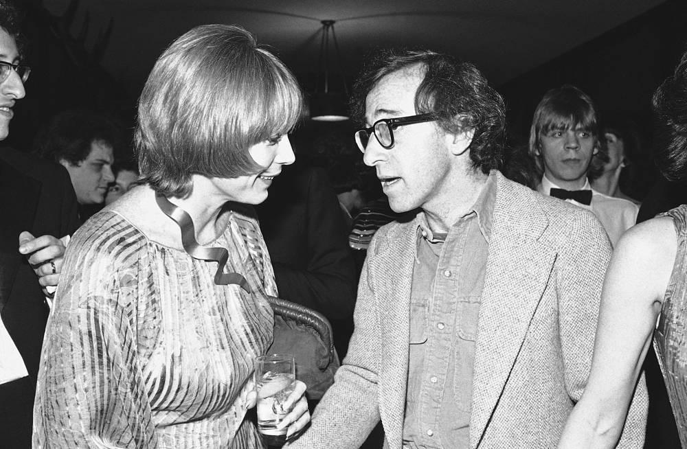Вуди Аллен и Ширли Маклейн на вечеринке в Нью-Йорке, 1978 год