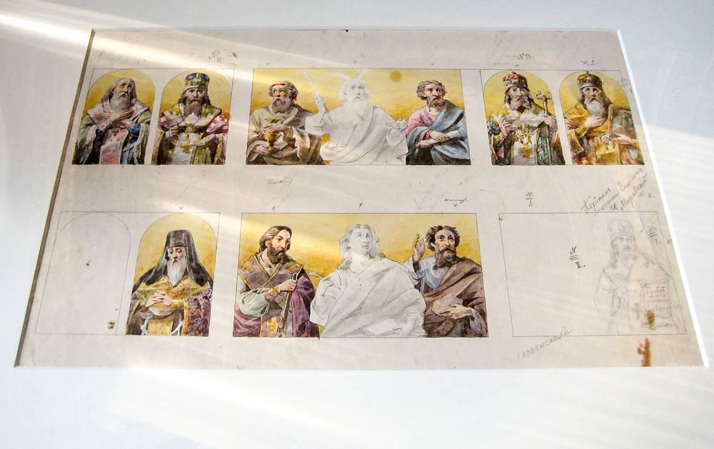 """Реликвии, переданные Государственному музею-памятнику """"Исаакиевский собор"""""""