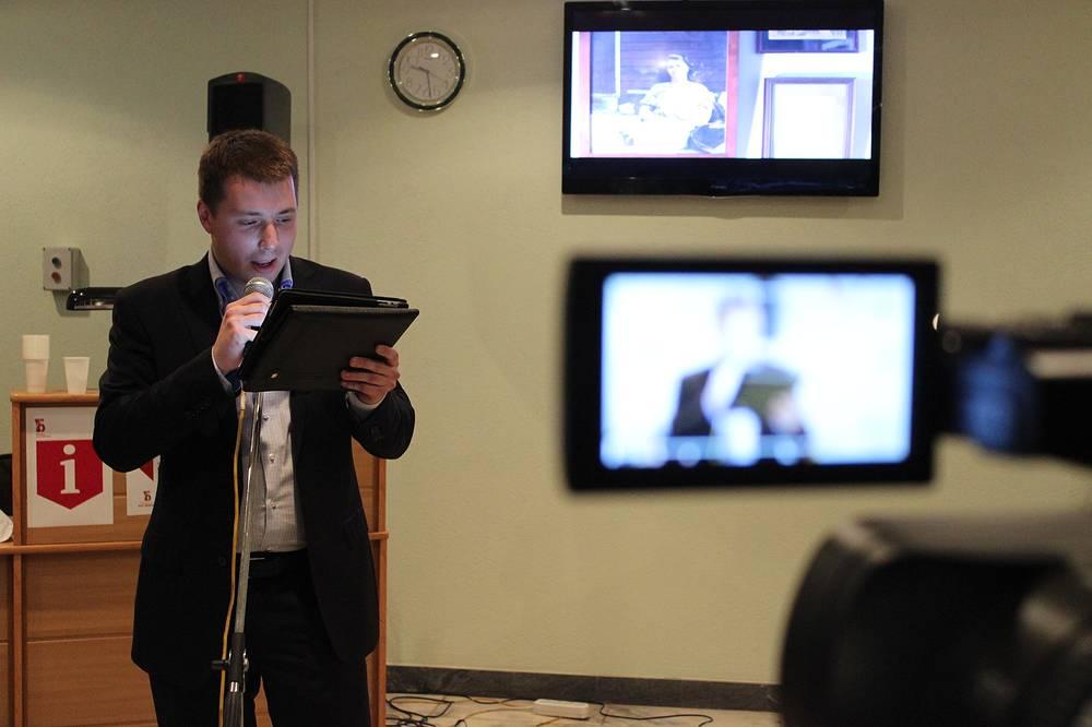 Максим Кассандров, начальник пресс-центра Уральского банка Сбербанка России