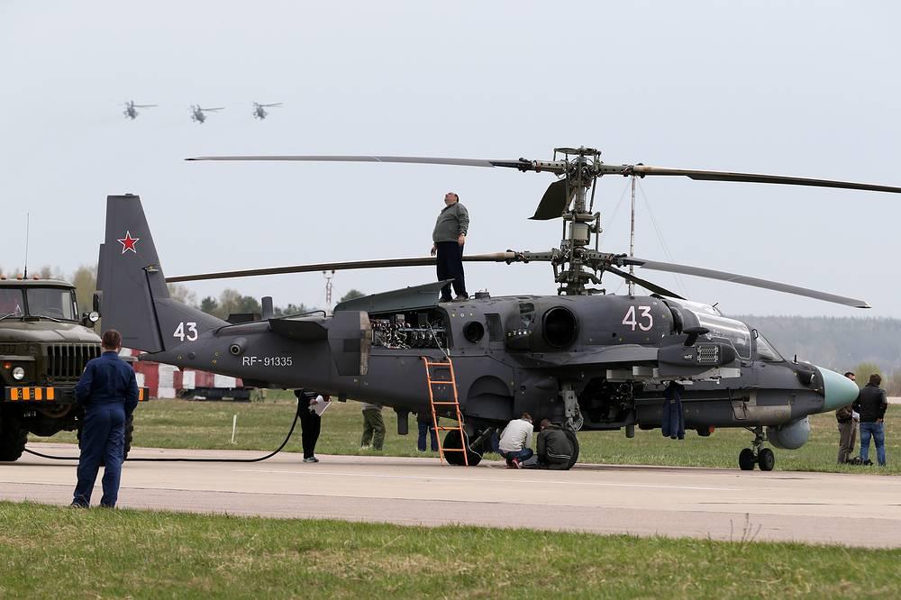 Военно-транспортный вертолет Ка-52