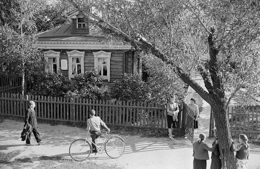 Дом Сергея Есенина, 1966 год