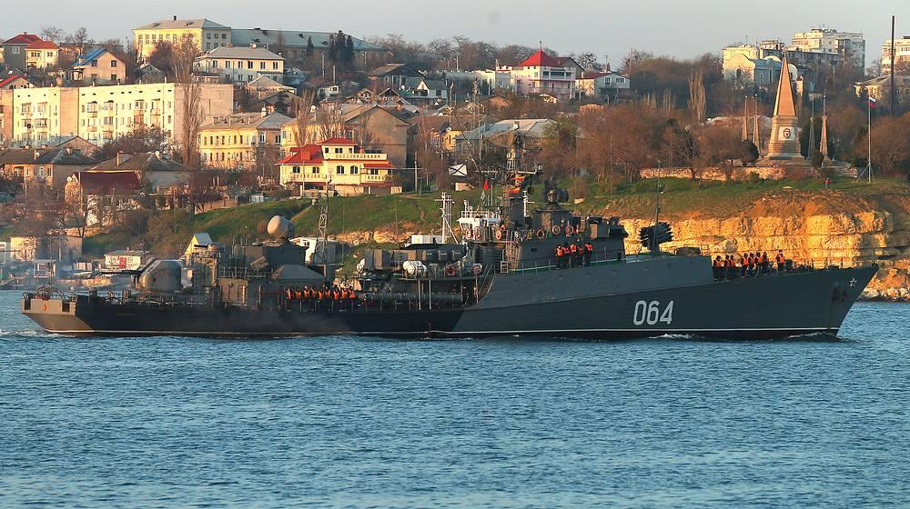 """Малый противолодочный корабль """"МПК-134"""" (""""Муромец"""")"""