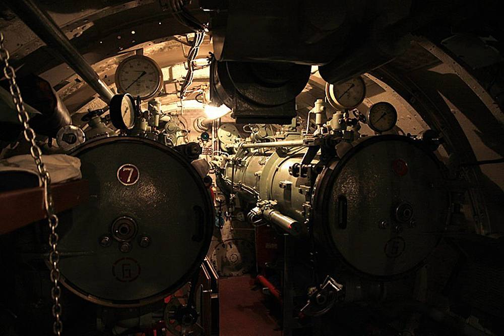 Кормовые торпедные аппараты
