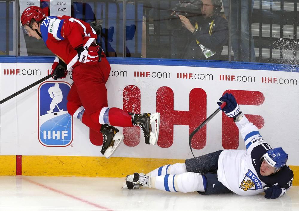 Дмитрий Орлов и Леонид Комаров (слева направо)