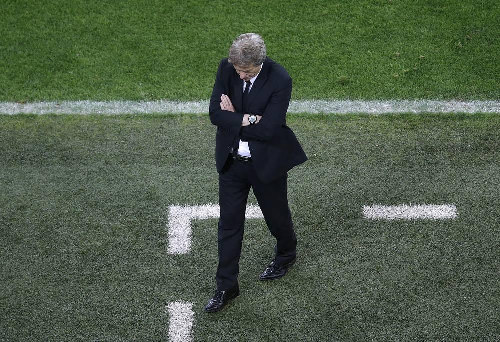 """""""Это был потрясающий финал, пусть даже в нем не было голов, - заявил главный тренер """"Бенфики"""" Жорже Жезуш"""