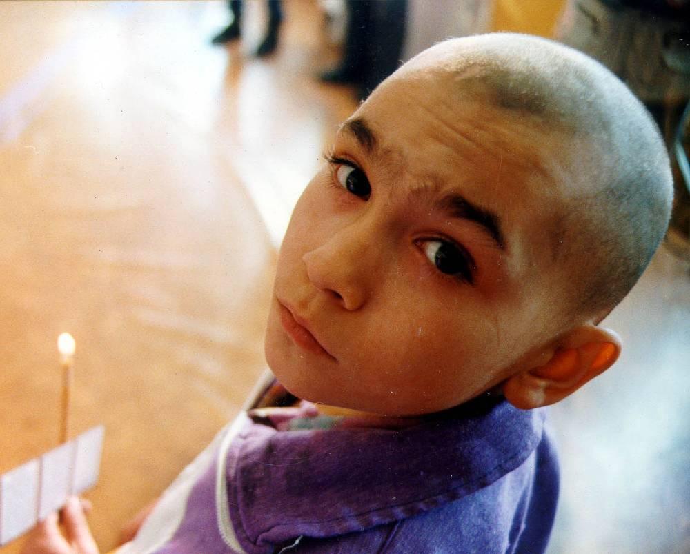 В храме Читы проходит обряд крещения несовершеннолетних правонарушителей