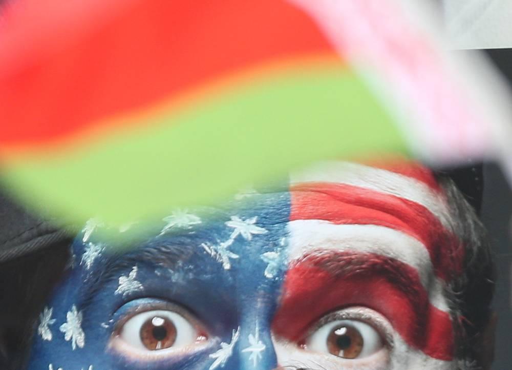 Болельщик из США