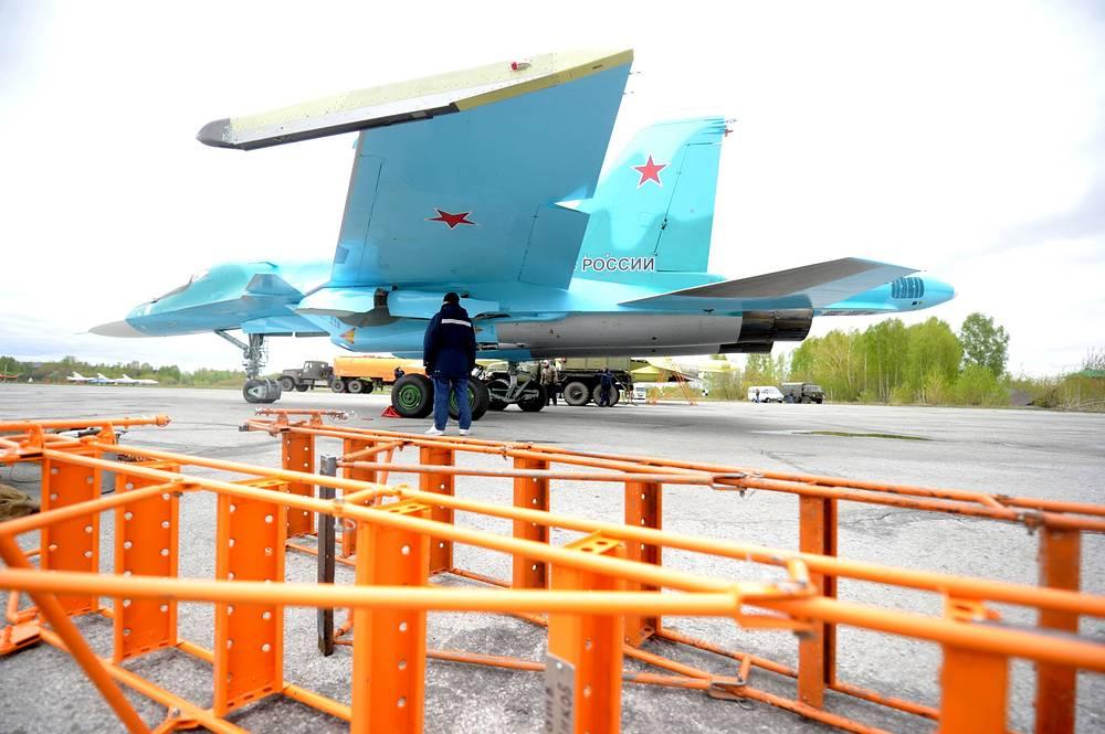 Предполетная подготовка Су-34