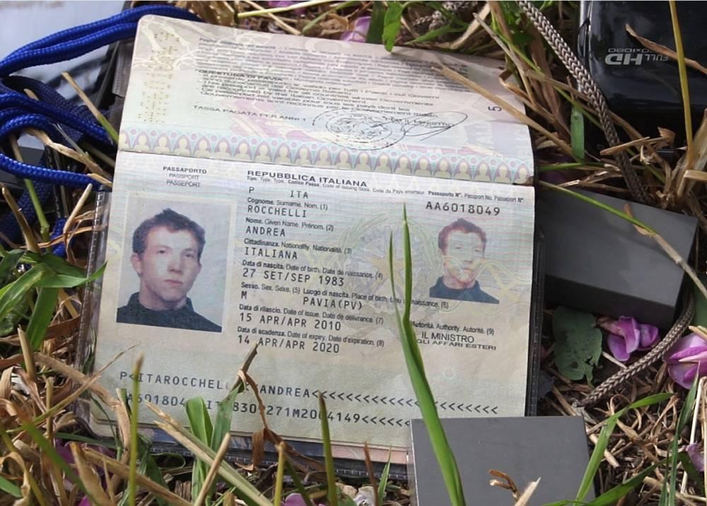 Документы Андреа Рокелли