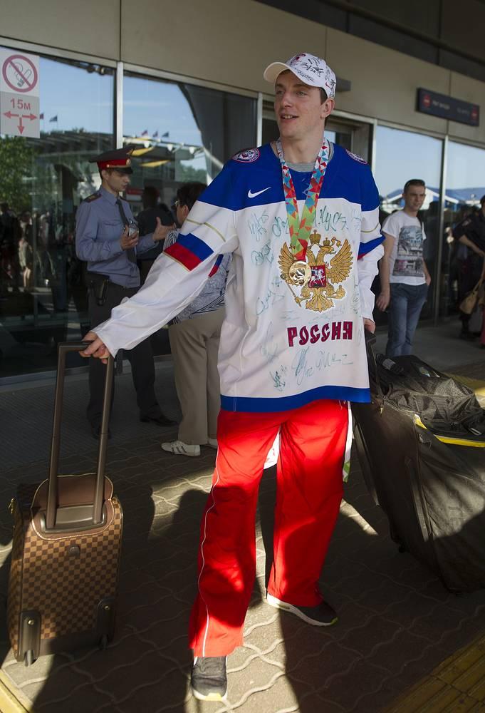 Ранее она добивалась успеха на турнирах 1993, 2008, 2009 и 2012 годов. На фото: Дмитрий Калинин