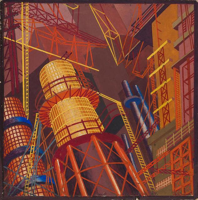 "Из цикла ""Архитектура индустрии"" (1932-1936 годы)"
