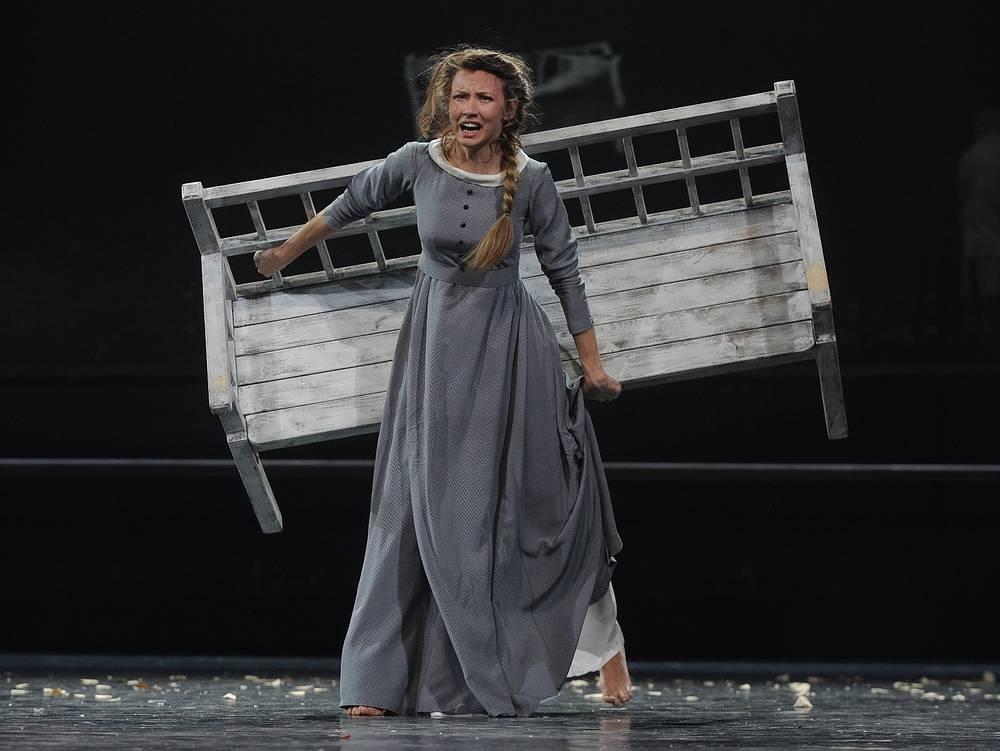 Вильма Кутавичюте в роли Татьяны