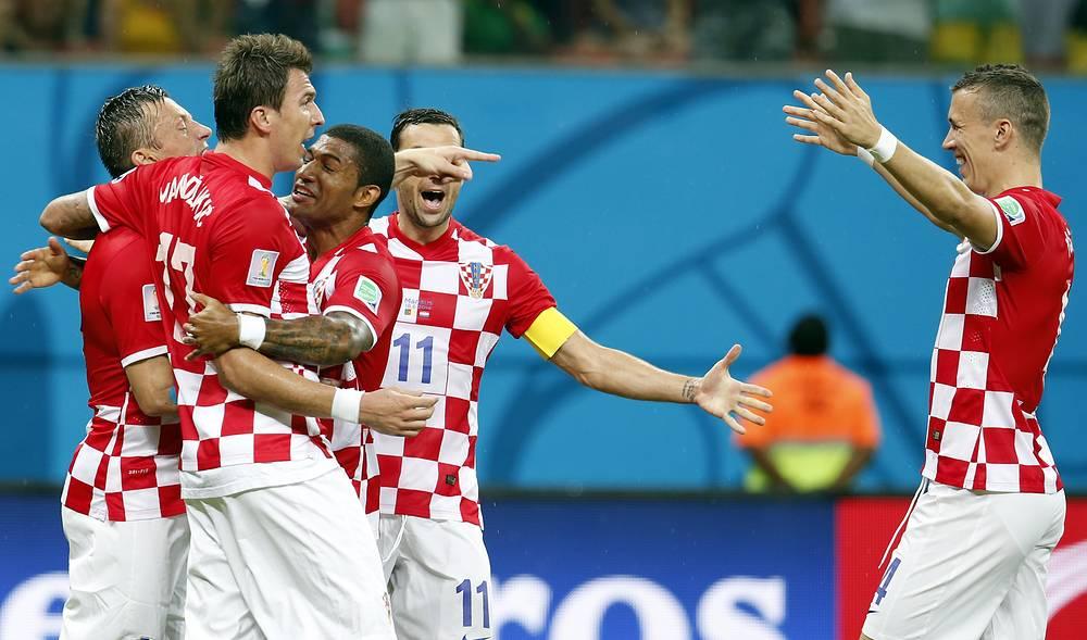 Радость хорватов