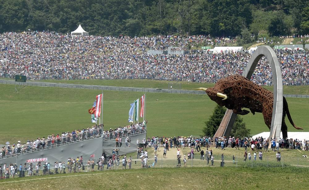 Болельщики на Гран-при Австрии