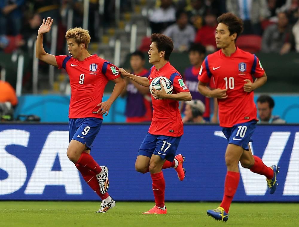 Футболисты Южной Кореи не опускали рук и боролись