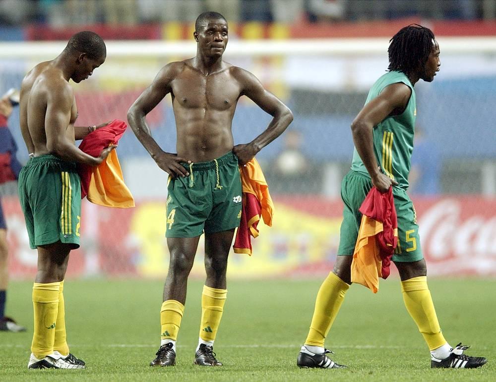 Сборная ЮАР не смогла выйти из группы ни в 1998 году во Франции ни на домашнем чемпионате мира в 2010 году.
