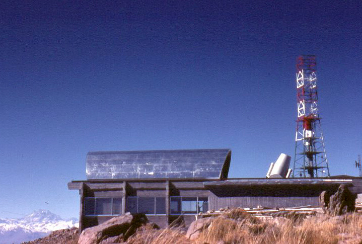 Павильон телескопа АЗТ-16 на станции Эль Робле