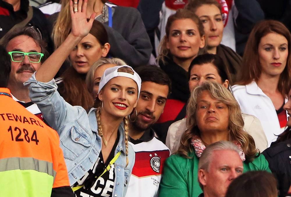 Поклонники немецкой команды