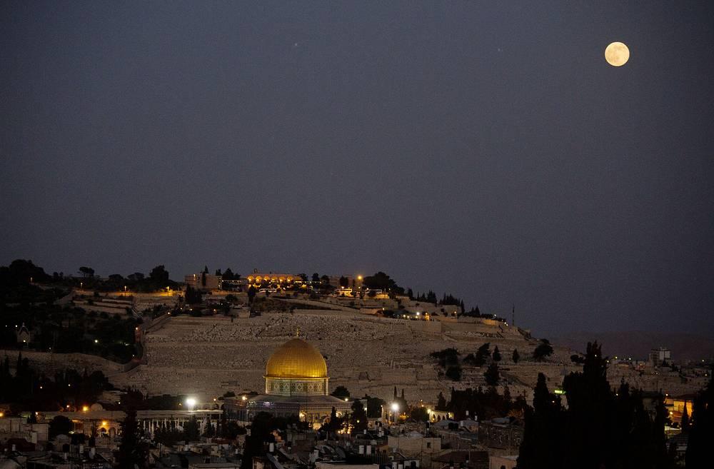 Купол скалы в Старом городе в Иерусалиме, Израиль
