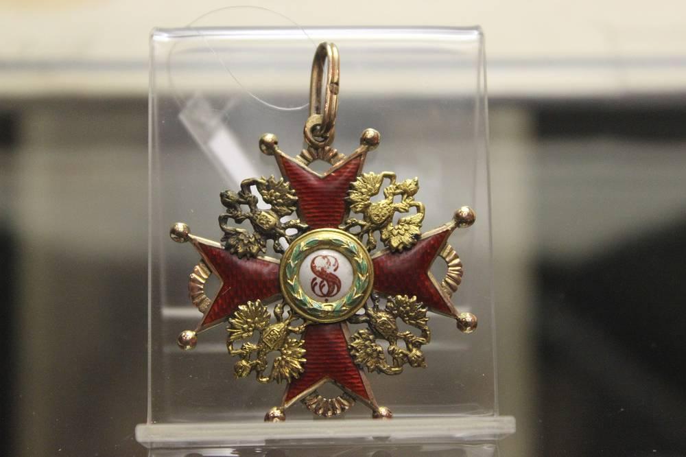 Орден Святого Станислава III степени. Конец XIX века