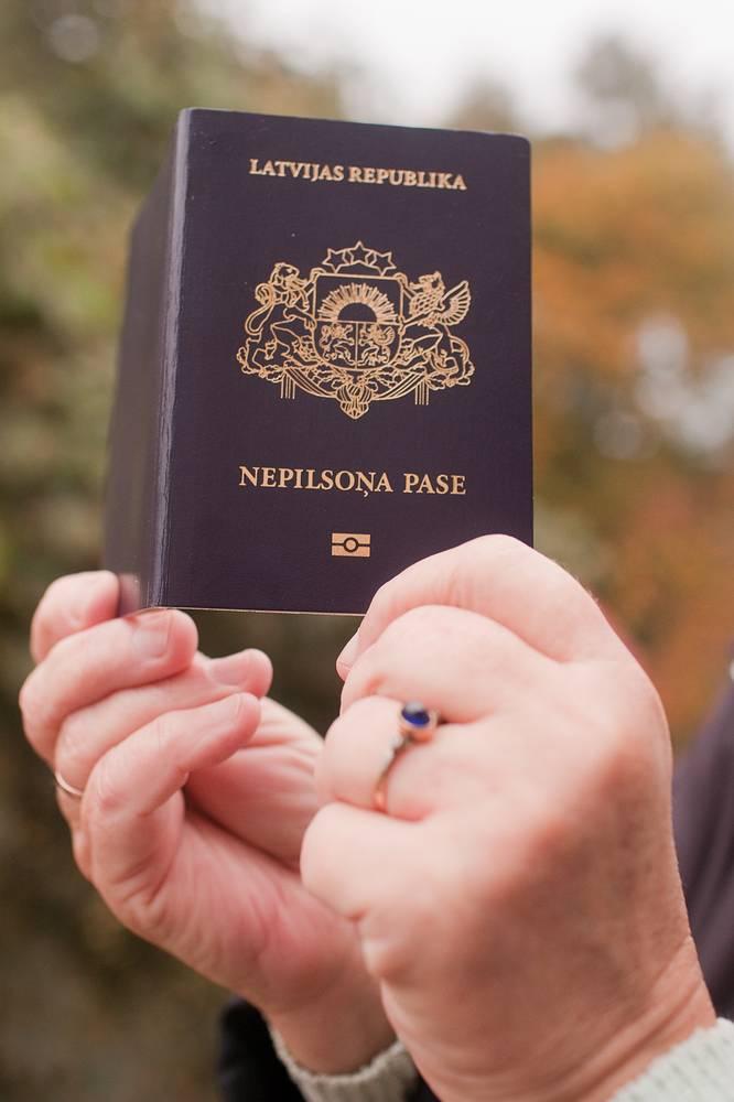 """Специальный паспорт, существующий в Латвии и выдаваемый лицам, которые имеют в Латвии статус """"негражданина"""""""