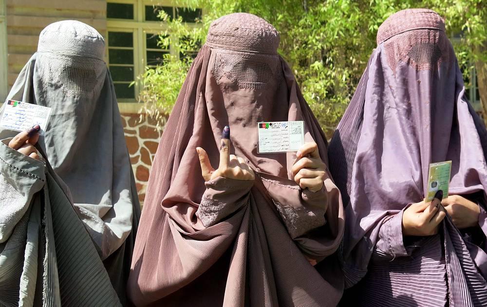 Второй тур президентских выборов в Афганистане, 2014 год