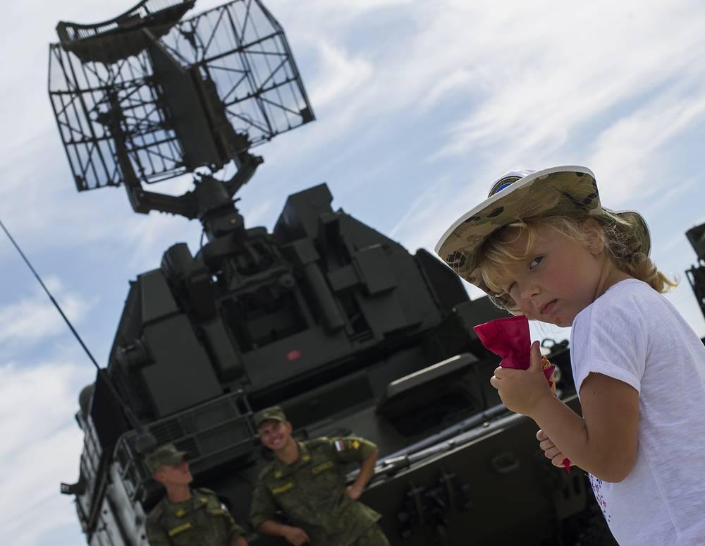 """Зенитный ракетный комплекс """"Тор-М1"""""""