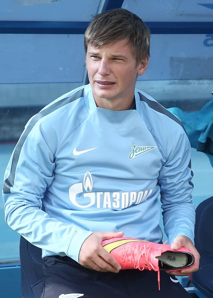 Андрей Аршавин вышел на замену в конце встречи
