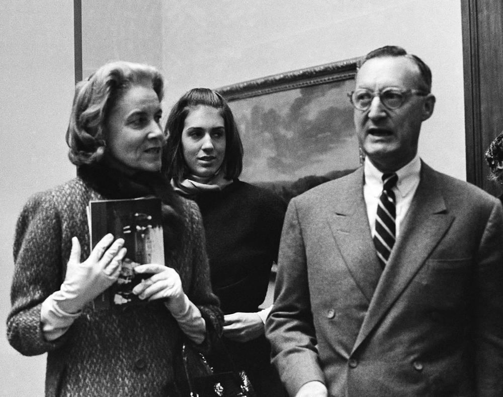 Пол Меллон с супругой Рэйчел Меллон, 1964 год