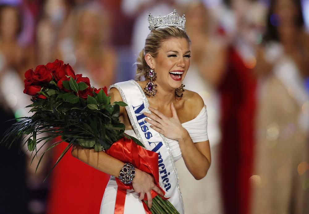 """""""Мисс Америка-2013"""" Мэллори Хэган одержала победу, выступая против насилия в семье"""