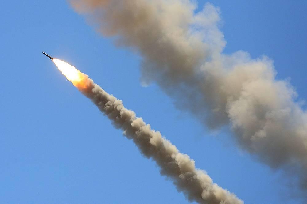Боевые рассчёты уничтожили  пять тактических крылатых ракет и отразили налет авиации условного противника
