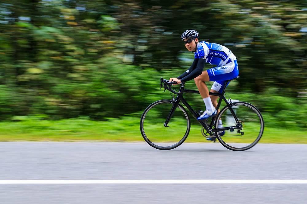 Участники третьего этапа велогонки «Дружба народов Северного Кавказа».