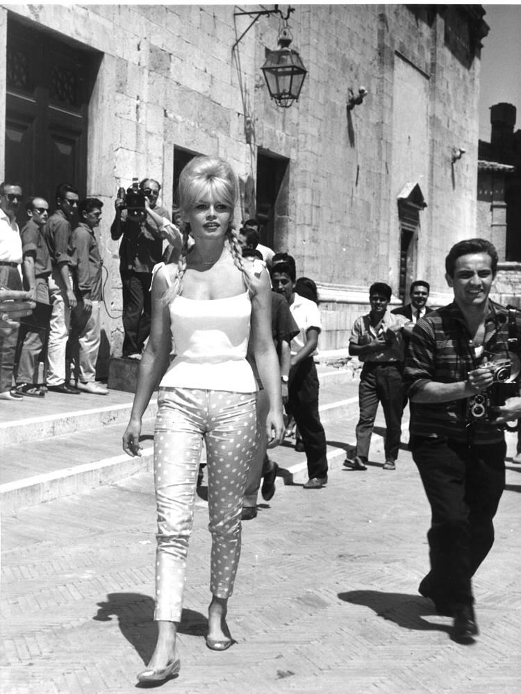 """Съемки фильма """"Частная жизнь"""" (1962) в Италии"""