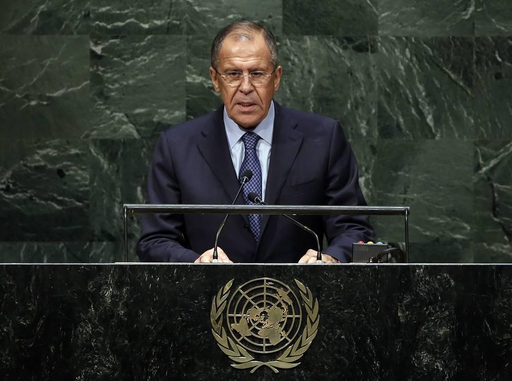 27 сентября состоялось выступление главы МИД РФ Сергея Лаврова на 69-й сессии Генеральной Ассамблеи ООН. Он подчеркнул, что виновные во всех преступлениях на Украине должны быть преданы правосудию